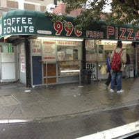 Photo taken at 99 Cent Fresh Pizza by Kosta P. on 10/10/2012