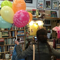 Photo taken at Elephant Bookstore by Sam M. on 5/21/2016