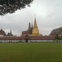 Photo taken at Temple of the Emerald Buddha by Ankur K. on 7/22/2013