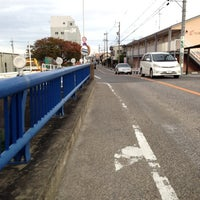 Photo taken at 中平橋 by 局好き on 11/12/2013