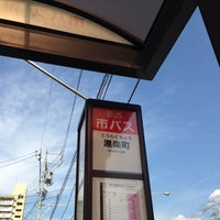 Photo taken at 名古屋市交通局 港楽町 バス停 北行き by 局好き on 9/28/2013