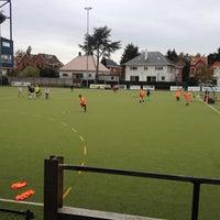 Photo taken at La Gantoise Hockey by Elfi V. on 10/31/2013