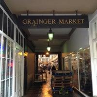 Photo taken at Grainger Market by Chris M. on 2/23/2013