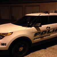 Photo taken at Greenwood Police Department by Christian W. on 12/6/2013