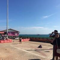 Photo taken at Na Ban Pier by Yoshiyuki O. on 1/1/2017