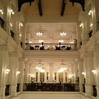 Photo taken at Raffles Hotel by Scotscowgirl on 1/28/2013