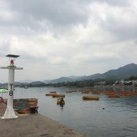 Photo taken at Tai Mei Tuk Water Sports Centre 大美督水上活動中心 by Harry C. on 4/12/2015