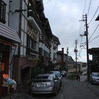 Photo taken at 燕温泉 by key8low on 10/20/2012
