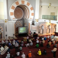 Photo taken at Masjid Jamek Sultan Abdul Aziz by Suhaimi N. on 12/21/2012