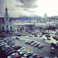 Снимок сделан в Контрактовая площадь пользователем Gulyk N. 2/6/2013