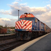 Photo taken at Metra - Barrington by Michael A. on 5/16/2013