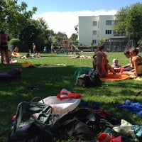 Photo taken at Spielplatz 94 by Beda on 7/6/2014