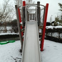 Photo taken at Spielplatz 94 by Beda on 2/15/2013