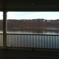 Photo taken at Marist Boathouse by Scott W. on 12/12/2012