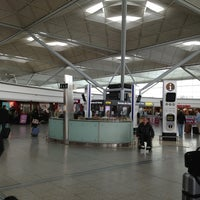 Photo taken at London Stansted Airport (STN) by Petrit d. on 5/23/2013