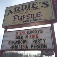 Photo taken at Flipside Pub & Grill by Todd H. on 2/6/2016