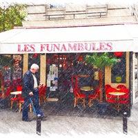 Photo taken at Les Funambules by Nicolas L. on 10/25/2013