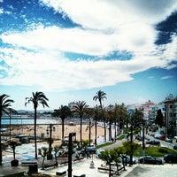 Photo taken at La Taberna del Puerto by Timi G. on 6/11/2013