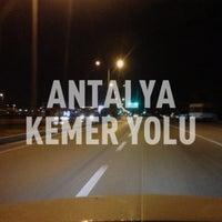 Photo taken at Antalya - Kemer Yolu by isa t. on 4/10/2013