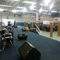 Photo taken at Igreja Mundial do Poder de Deus by Ruben F. on 8/17/2013