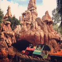 Photo taken at Big Thunder Mountain Railroad by Tanya H. on 10/10/2012