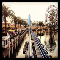Photo taken at California Screamin' by Tanya H. on 12/6/2012
