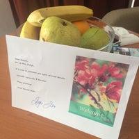 Photo taken at Bluesun Hotel Berulia by Uliana F. on 6/9/2014