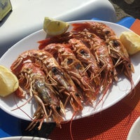 Photo taken at Caleta Playa by annette k. on 2/27/2017