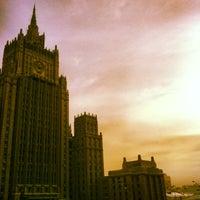 Photo taken at Смоленская-Сенная площадь by Rostislav V. on 1/20/2013