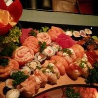 Photo taken at Gokan Sushi Lounge by Aline Z. on 5/24/2016