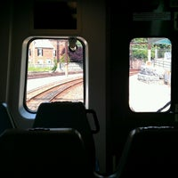 Photo taken at SEPTA Chestnut Hill East Station by Jahy T. on 7/11/2013