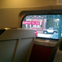 Photo taken at SEPTA Chestnut Hill East Station by Jahy T. on 7/22/2013