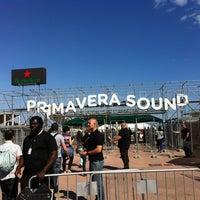 Photo taken at Primavera Sound by Kira Z. on 5/23/2013