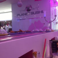 Photo taken at Planet Sushi by Hassen T. on 1/1/2013