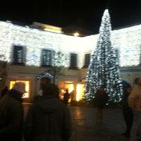 Photo taken at Piazzetta Umberto by Teresa G. on 12/23/2012
