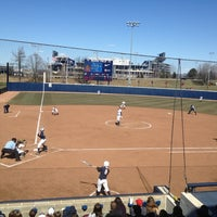 Photo taken at Nittany Lion Softball Park by Angelis L. on 3/30/2013