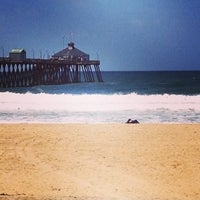 Photo taken at Imperial Beach Pier by Shama D. on 4/16/2013