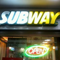 Photo taken at Subway by Chirag D. on 4/1/2013