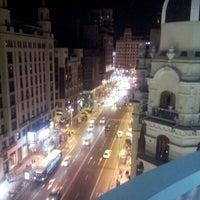 Photo taken at Hotel Emperador Madrid by Lars D. on 9/15/2012