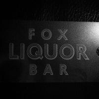 Photo taken at Fox Liquor Bar by Jeremy H. on 12/30/2012