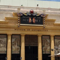 Photo taken at Revenge Of The Mummy by Elizabeth R. on 5/31/2013