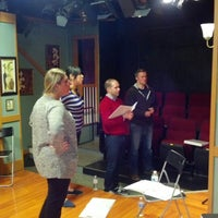 Photo taken at Spotlighters Theatre by Fuzz R. on 2/6/2013
