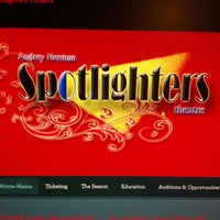 Photo taken at Spotlighters Theatre by Fuzz R. on 12/10/2012