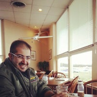 Photo taken at Airport Cafe by Talal A. on 3/28/2013