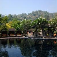 Photo taken at Sibsan Resort & Spa Maetaeng by Tak C. on 4/26/2013