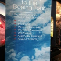 Photo taken at Future of Flight Aviation Center & Boeing Tour by DEBBIE L. on 4/3/2013