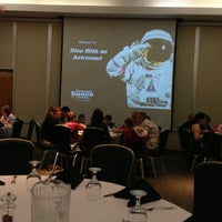 Photo taken at Dine With An Astronaut by Mike S. on 3/30/2013