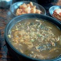 Photo taken at 가마솥해장국 사대문 by Ben K. on 11/11/2012