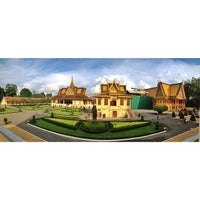 Photo taken at Royal Palace, Phnom Penh by Lex M. on 6/3/2013