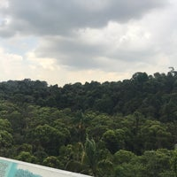 Photo taken at Jelutong Tower by Benj on 2/23/2017